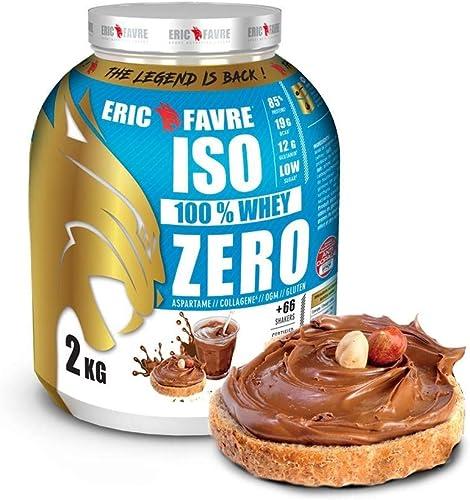 ISO WHEY ZERO 100% Pure Protéine - Pure Whey Protéine Isolate Savoureuse Pour Prise de Masse Musculaire - Assimilable...