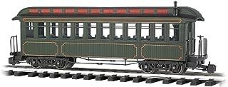 Bachmann Industries Jackson Sharp Passenger Car & Coach Olive/Gold Lining - Large