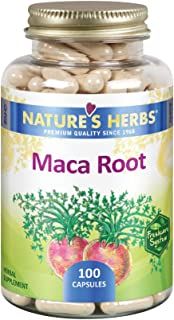 Nature's Herbs Maca Root, 500 mg, 100 Capsules