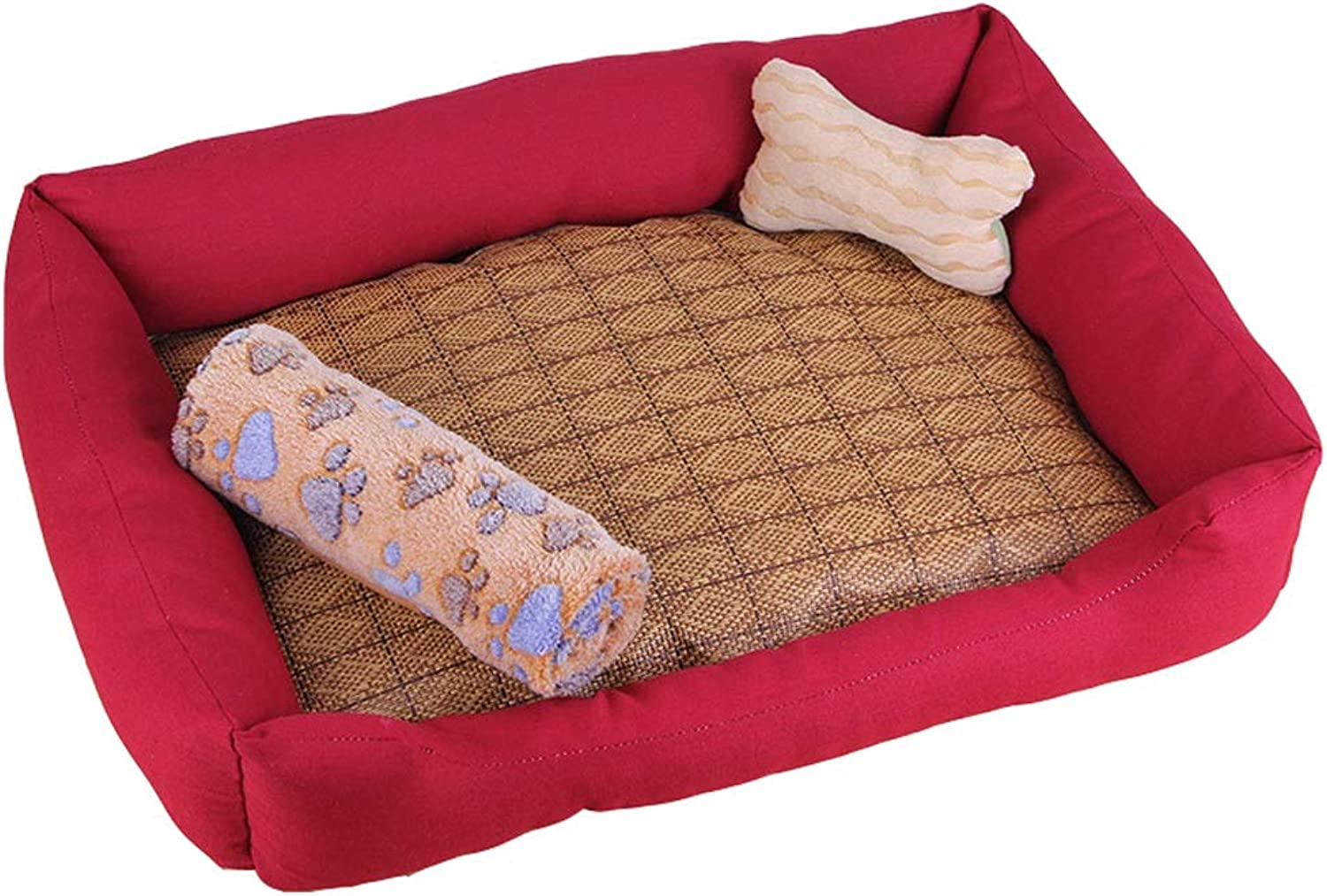 Pet house Kennel Washable Kennel Cat Nest For Small Dog Large Dog Pet Small Dog Winter Keep Warm (color   D, Size   Xl)