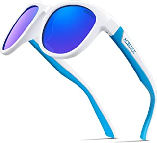 Kids Polarized Sports Sunglasses TPEE Frame with...