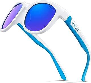 ACBLUCE Kids Polarized Sports Sunglasses TPEE Frame with...