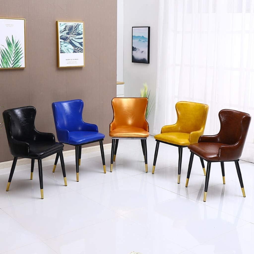 PRIDE S Chaise de Salle à Manger Simple avec Dossier créatif Golden-b