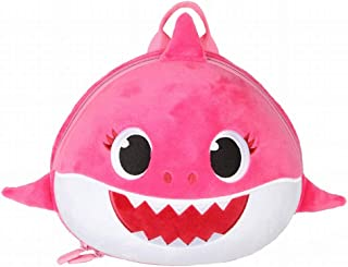 Supercute Baby Shark Backpack with Leash, Outdoor Toddler Backpack for 1-6 Years Old Girls. (Rose)