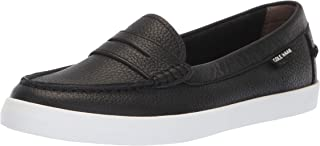 حذاء Nantucket Loafer للسيدات من Cole Haan, (Black Leather), 37 EU