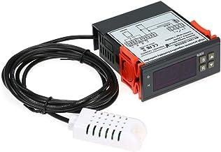 10A 220V Mini Controlador de Control de Humedad del aire Digital Rango de Medición 1% ~ 99% con sensor