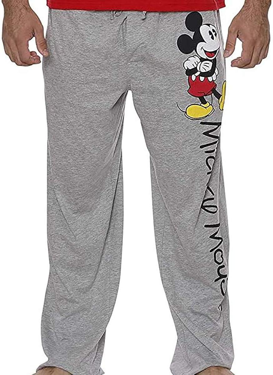 Disney Mickey Mouse Side Print Pajama Pants