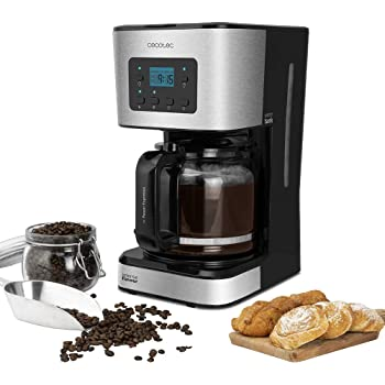 Cecotec Cafetera de Goteo Coffee 66 Smart. Programable con ...