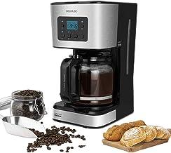 Cecotec V1704530 koffiezetapparaat, Coffee 66 Smart programmeerbaar, met extreme aroma-technologie, 950 W vermogen, Autocl...