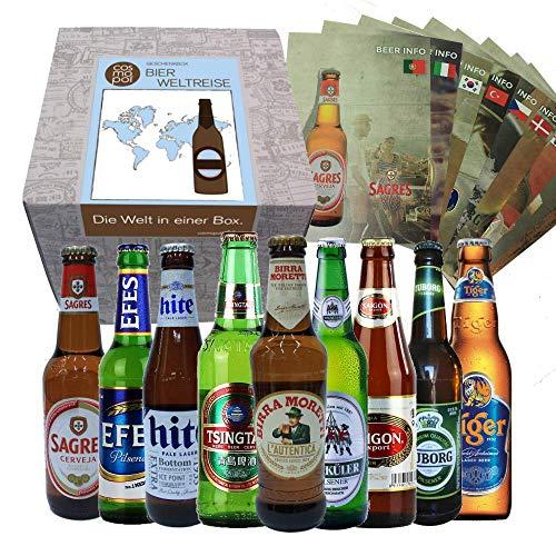 Bier Geschenkbox Männer Bierweltreise
