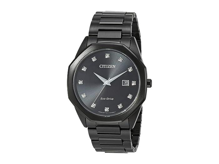 Citizen Watches  Corso BM7495-59G (Black) Watches