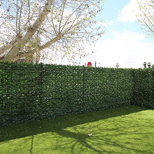TANG Sunshades Depot 6'x14' FT Artificial Faux Laurel Privacy Fence Screen Leaf Vine Decoration Panel Customize Sizes