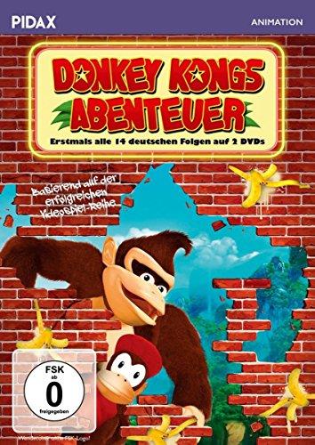 Donkey Kongs Abenteuer / Erstmals alle 14 deutsch synchronisierten Folgen der preisgekrönten Kultserie (Pidax Animation) [2 DVDs]