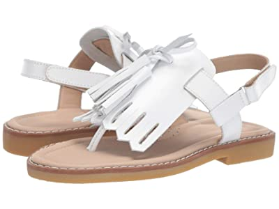 Elephantito Boho Chic Sandal (Toddler/Little Kid/Big Kid) (White) Girls Shoes