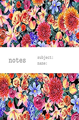 Flower Collage Patterned Daily Writing Journal