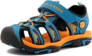 c1a85bdaa Sandalias Cerradas Velcro Niño Zapatillas Verano Zapatos Niña Deportivas  Senderismo Trekking Playa Agua Unisex