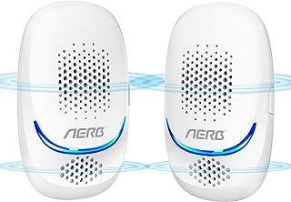 comprar comparacion NUEVO Aerb Repelente Ultrasónico de Plagas, mosquitos ultrasónicos portátiles de 10 W, 100% seguro para personas y anima...