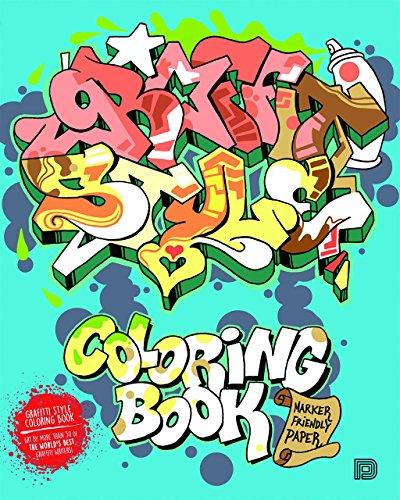 Almqvist, B: Graffiti Style Coloring Book (Colouring Books)