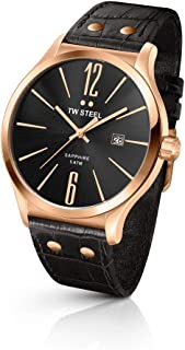 TW Steel Watch for Men, Leather, TW1303