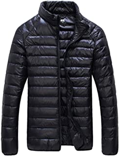 Duck Down Jacket Men 90% Coat Waterproof Down Parkas Mens Collar Outerwear Coat