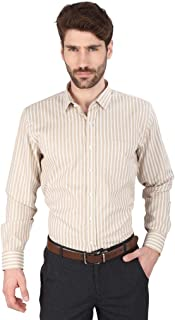 Big Tree Fabric Cotton Stripe Shirt