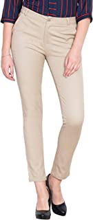 NGT Women's Slim Fit Formal Trousers