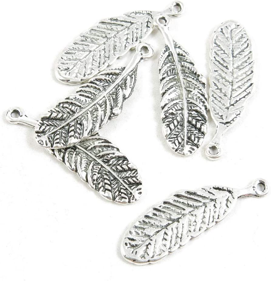1410 Pieces Antique Max 77% OFF Recommendation Silver Tone B Jewelry Making Charms Crafting