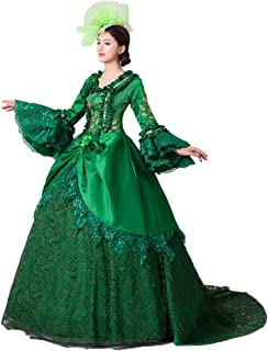 Women Civil War Marie Antoinette Wedding Dress Southern Belle Rococo Queen Stage Party Banquet Victorian Ball Gowns
