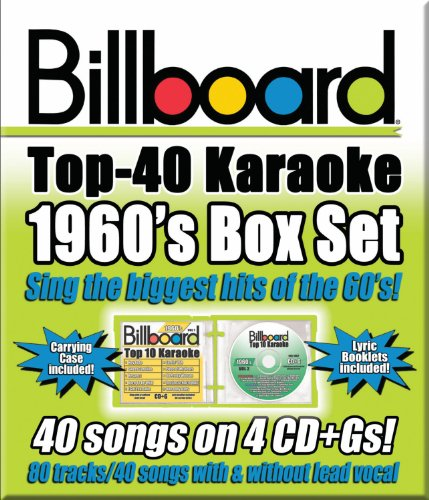 Billboard Top-40 Karaoke - 1960's Box Set (40+40-song Box Set) [4 CD]