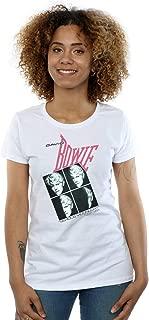 David Bowie Women's Serious Moonlight Tour 83 T-Shirt