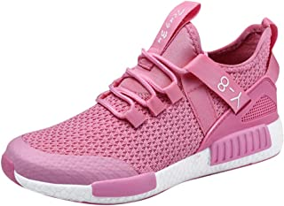 Funnygals Mens Fitness Sport Running Performance Shoes Lightweight Lace-Up Trainers Breathable Mesh Sneakers Basketball Shoes