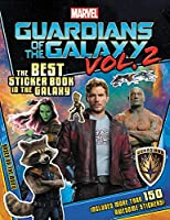 MARVEL's Guardians of the Galaxy Vol. 2: The Best Sticker Book in the Galaxy