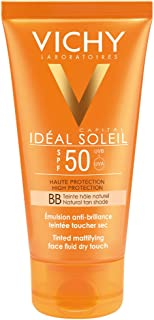 Vichy Ideal Soleil Protector Solar BB Toque Seco Fluido con Color FPS 50 50 ml
