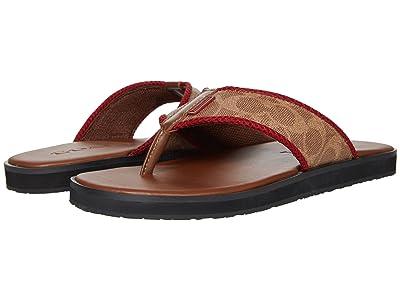 COACH Signature Flip-Flop