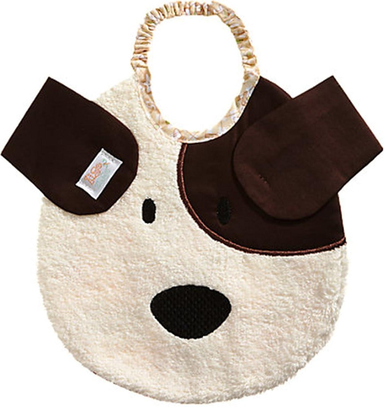Zigozago - Baby Bib PUPPY - Tie: Elastic - One Size