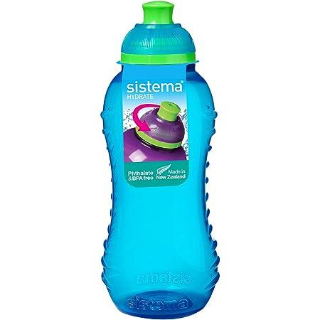 Fringoo Botella Silicona Colgable Bebida para Niños 500ml ...
