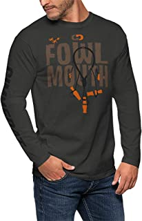 Fowl Mouth Duck Hunting Shirt | Soft Long Sleeve | Mens Boys Gift Father