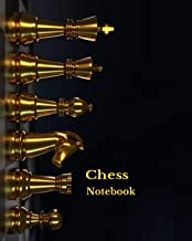 Chess Notebook: Record your Chess Moves in this Notebook: Scorebook Sheets Pad for Record Your Moves During a Chess Games. Chess Notation Book, Chess ... Wins Moves, Tactics & Win Loss (Checkmate)