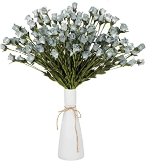 HC STAR Artificial Rose Bouquets - Fack Flowers for Home Decoration,10 Flowers Per Bunch