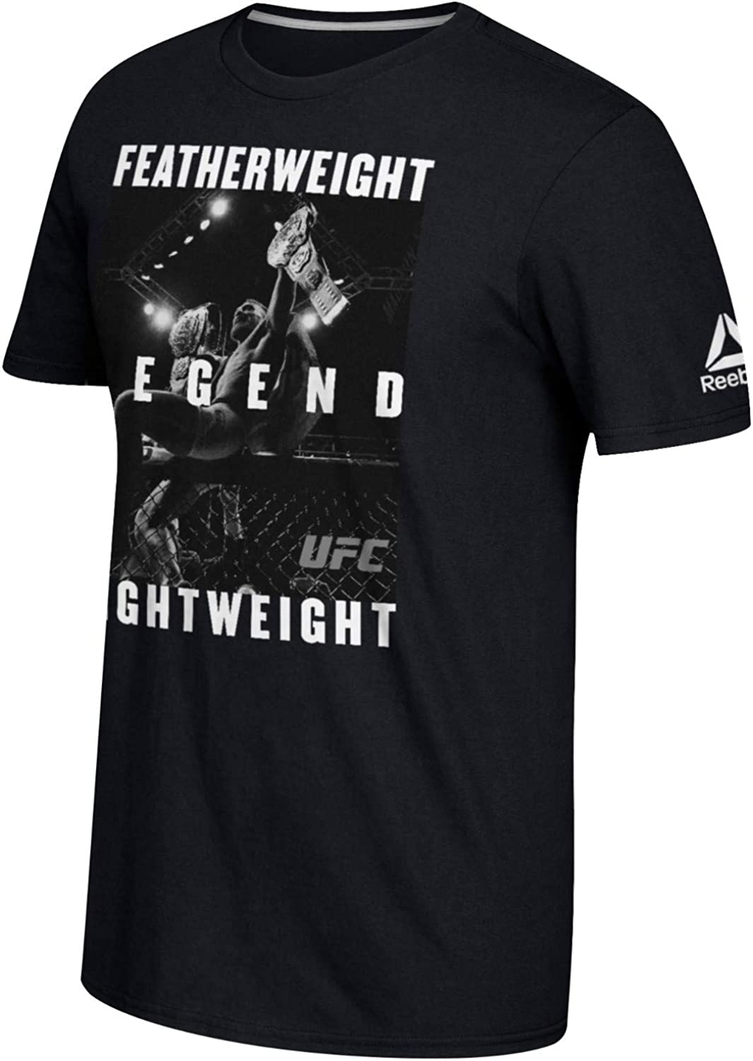 Reebok Selling and selling Conor McGregor UFC Men's History Making Black Two Ranking TOP14 Divisio