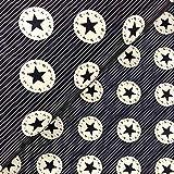 Swafing GmbH Softshell Sterne auf Streifen dunkelblau -