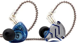 KZ ZS10 Pro, Linsoul 4BA+1DD 5 Driver in-Ear HiFi Metal Earphones with Stainless Steel Faceplate, 2 Pin Detachable Cable (...