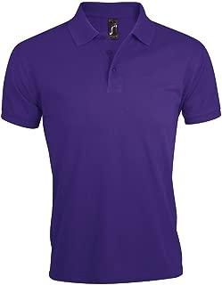 SOLS Men's Prime Pique Short Sleeve Polo Shirt