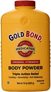 Gold Bond Med Pwdr Size 10z Gold Bond Medicated Powder Triple Action Relief(Pack of 2)