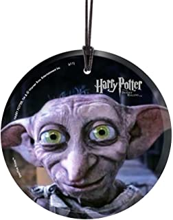 Trend Setters Harry Potter and The Deathly Hallows – Dobby House Elf - Hanging Glass Collectible Decor – Officially Licensed