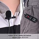 Immagine 1 andoer lavalier microfono a condensatore
