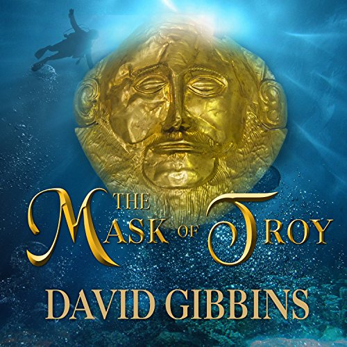 The Mask of Troy audiobook cover art