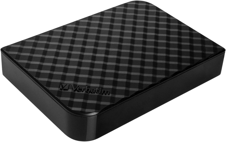 Verbatim 2TB Store 'n' Save Desktop Hard Drive, USB 3.0, Diamond Black 97580