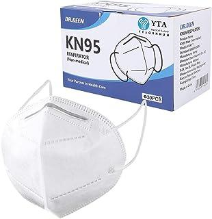30Pcs ƘṆ-95 Disposаble Face Mẵsk FDẴ Certified Coronàvịrụs Protectịon Adult's 5-Ply Filtеr Efficiency≥95% Fàce Màsk - Test...