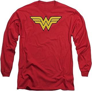 Wonder Woman Logo Adult Long-Sleeve T-Shirt